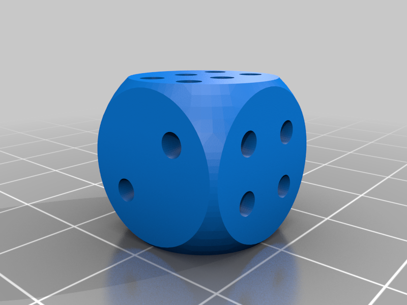Cheat1High.png Download free STL file Cheating Dices - non-laplacian dices • 3D printable template, plokr