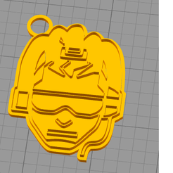 lucio.png Download STL file key chain overwatch pike key ring • 3D printing object, Dexter07