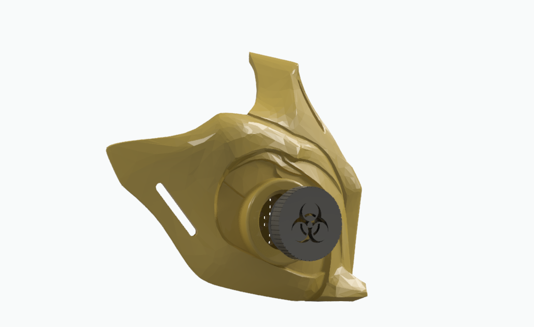 3.PNG Download STL file Mouthpiece cover Scorpion MK 11 with interchangeable filters • Template to 3D print, Geralp