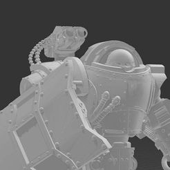 domitarface.jpg Download free STL file Dominant Robots (Now with IRON™ Mode!) • 3D printer design, codewalrus
