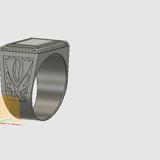 Deaths_Ring.png Download free STL file Supernatural - Four Horsemen Of Apocalypse's Rings • Object to 3D print, ColinSS906
