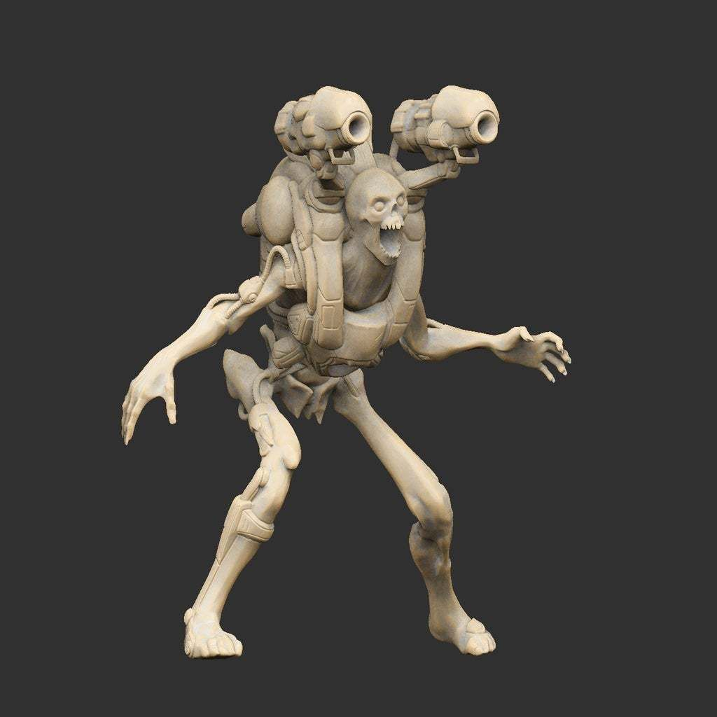 Doom_Revenant_Render.jpg Download free STL file Doom Revenant Posed Detailed For Resin • 3D print design, CharlieVet
