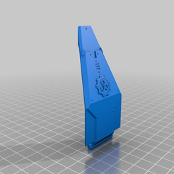 DoorRaukaanThick.png Download free STL file Custom Doors for Attack Capsule • Template to 3D print, PhysUdo