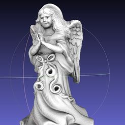 screenshot.8698.jpg Download free OBJ file ThriftStore Angel--Digitized!! Resculpt • 3D printing template, 3DLirious
