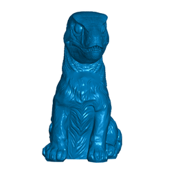 PRfront.png Download free STL file DNA Hack: Puppy Raptor • Template to 3D print, ToaKamate